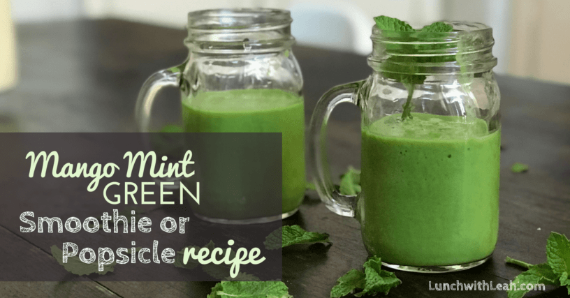 How To Make Mango Mint Spinach Taste Amazing Together